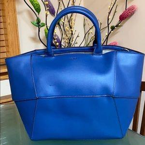 Brand new large royal blue BCBG purse